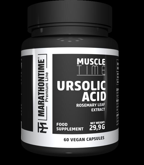 Marathontime Premium Line Ursolic Acid 60 caps