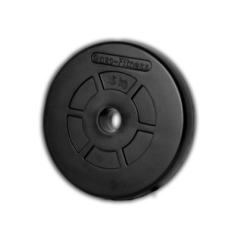 Gazo Fitness Rubber weight plate 2,5 kg