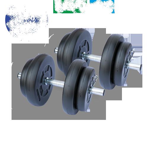 Gazo Fitness Dumbbell set 2x15,5kg set